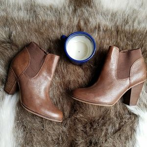 Steve Madden | Brown Leather Roami Bootie